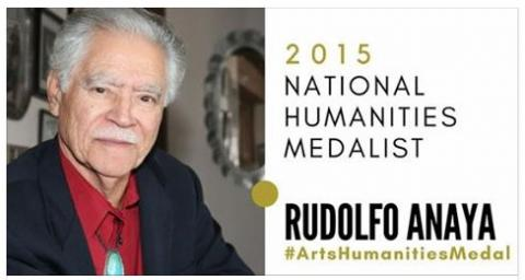 2015 National Humanities Medalist Rudolfo Anaya